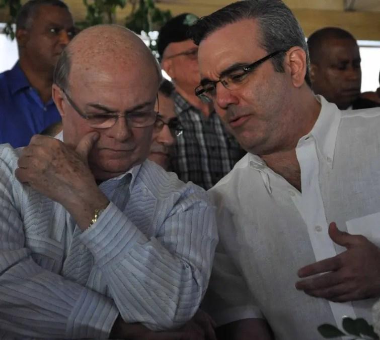 Hipólito Mejía y Luis Abinader son aspirantes a la candidatura.