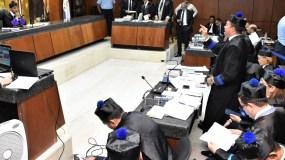 Trece de los 14 imputados por el caso Odebrecht cumplen medidas de coerción.
