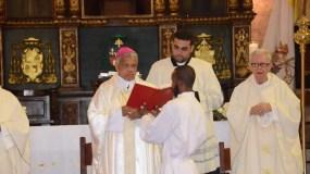 Ozoria ofició la misa por el día de Corpus Christi. Foto: Joan Vargas.
