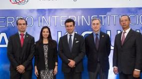 Antonio Teodoro, Claudia Lopez,  Carlos Sierra, Fabian Bachrach, Bogart Balmori Miembros del  Consejo de AISG.