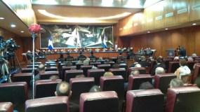 La audiencia solemne se realizó en la Sala Augusta de la Suprema Corte de Justicia. Foto: Estarlin Taveras.