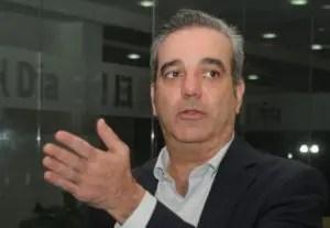 Luis Abinader dijo trabajará para llevar al PRM a un 40 % en   2019.