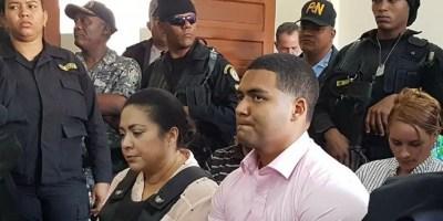 Marlin Martínez y su hijo Marlon están acusados de la muerte de la joven Emely Peguero. Foto de archivo.