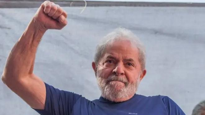 Lula  está encarcelado desde abril por corrupción pasiva.