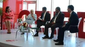 Participantes en el panel sobre Pacto Educativo organizado por Intec.