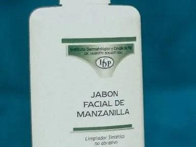 Jabón facial de manzanilla.