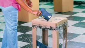 La encuesta fue realizada a potenciales votantes. archivo