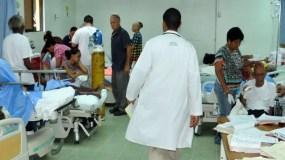 Médicos se han quejado por inseguridad en centros.  arhivo