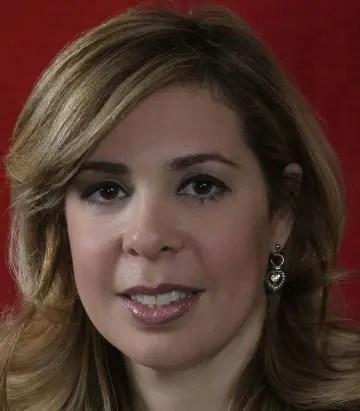 Sergia Elena de Séliman, dirigente del PRSC.  archivo