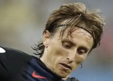 Luka Modric, figura central de la selección  croata.