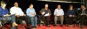 El grupo de periodistas debatió el 29 de diciembre de 2016 en  Los Tres Brazos  la venta de sus terrenos a particulares, uniéndose  a las voces que condenaban esa operación.