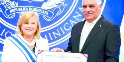 Miguel Vargas y María Cristina Castro.