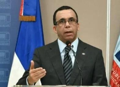 Andrés Navarro, ministro de Educación.