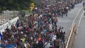 La gran caravana sigue pese a la amenaza de  cortar  ayudas.