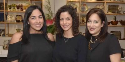 Jelissa Navarro, Natalia Aquino y Jhissel Vargas.