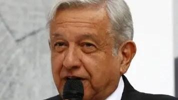 Presidente electo, Andrés Manuel López Orador.