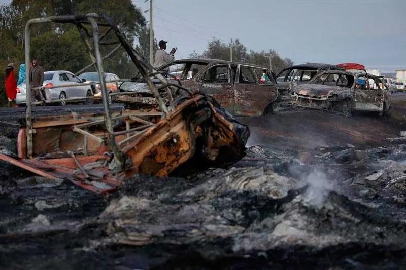 50 muertos en un accidente de tránsito en El Congo