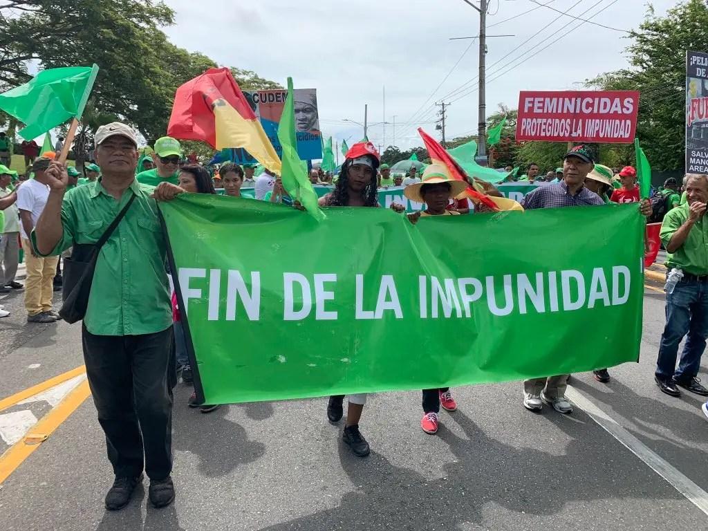 Inicia la marcha verde en Santiago