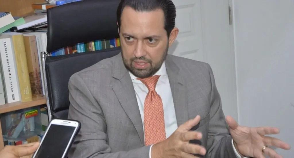 """Gregory Salcedo Llibre en la Procuraduría: """"estoy aquí para colaborar con las autoridades"""""""