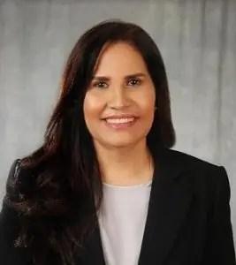 Maritza Hernández, precandidata presidencial del Partido de la Liberación Dominicana