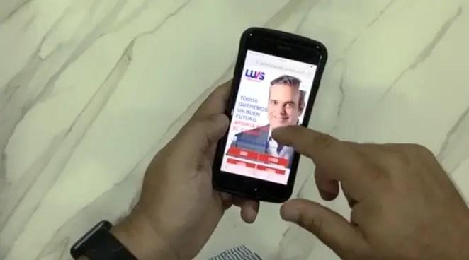 Abinader recaudará fondos para su campaña a través de plataforma digital