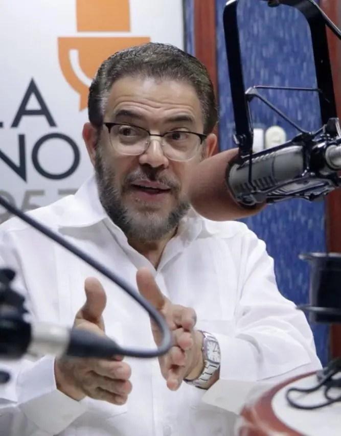 Guillermo Moreno acusa al PLD de controlar la justicia para asegurar impunidad a su dirigentes