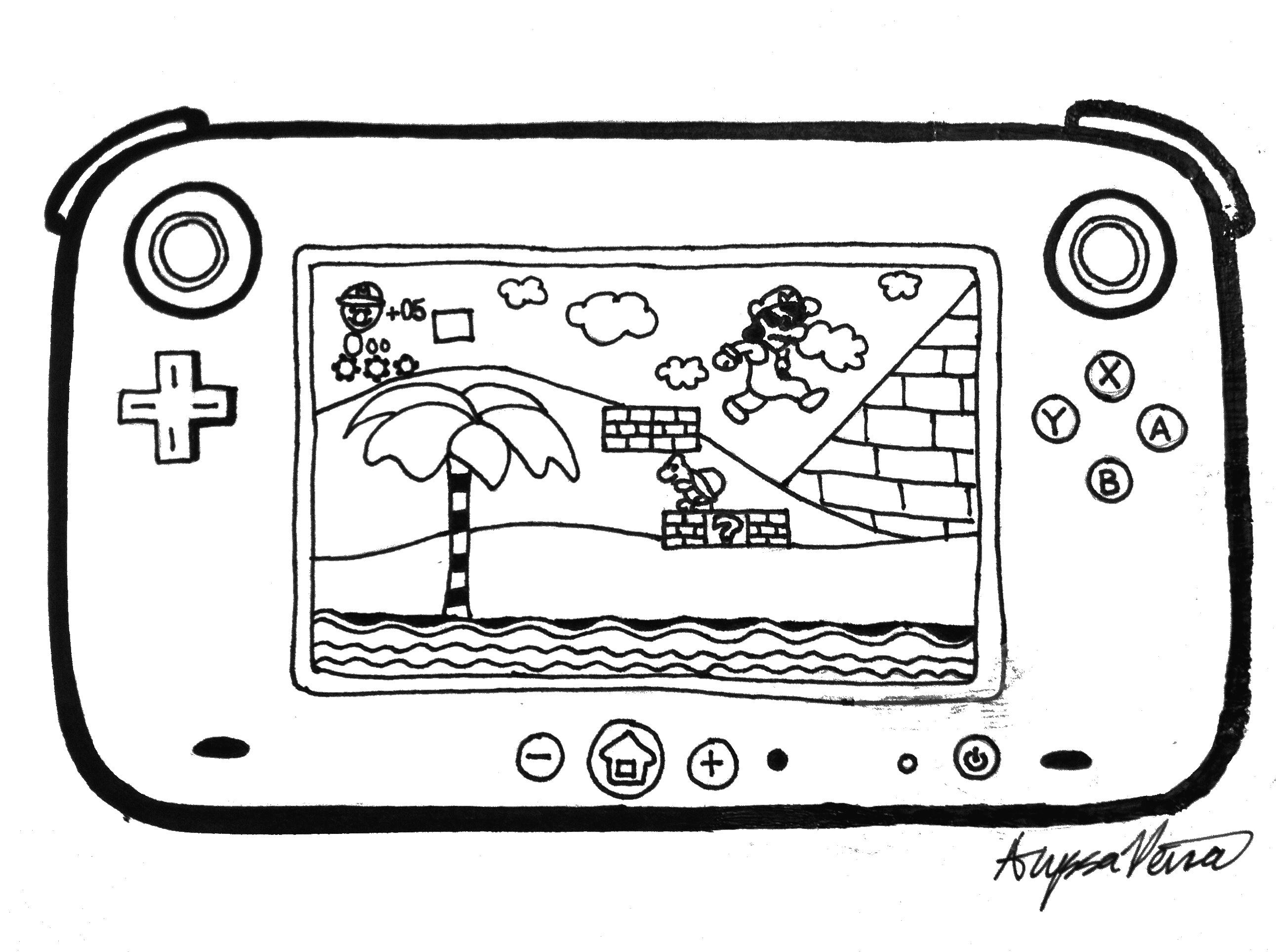 Wii U Home