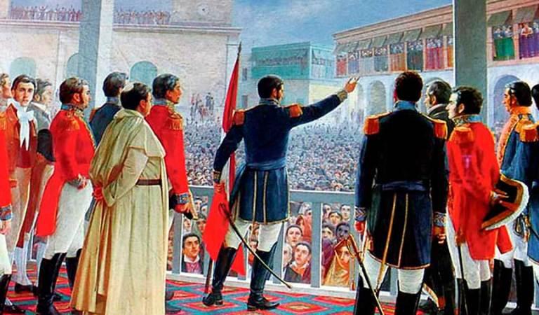 ¿En qué orden proclamaron su independencia los pueblos del  Perú?