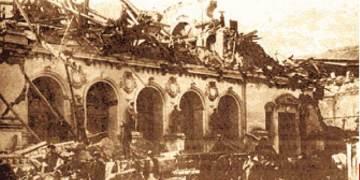 En qué año ocurrió el terremoto que arrasó el Callao y Lima
