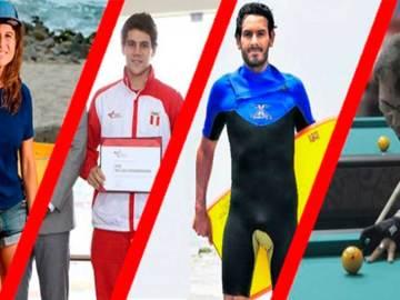 deportistas peruanos han recibido los laureles deportivos