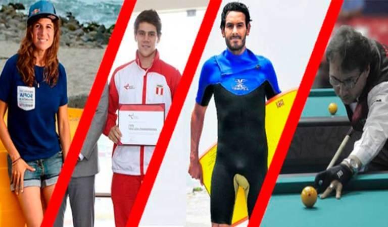 ¿Qué deportistas peruanos han recibido los laureles deportivos?