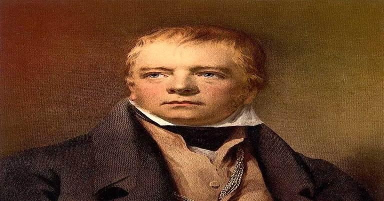 Biografía de Walter Scott (n. 1771 - m. 1832).