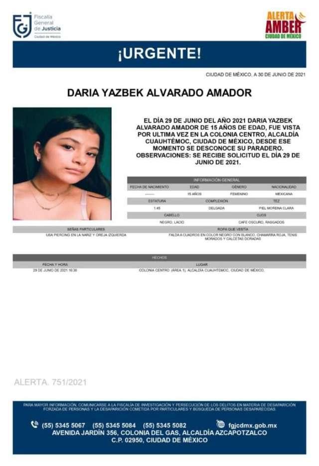 Familiares buscan a Daria Yazbeck Alvarado – El Diario de Coahuila