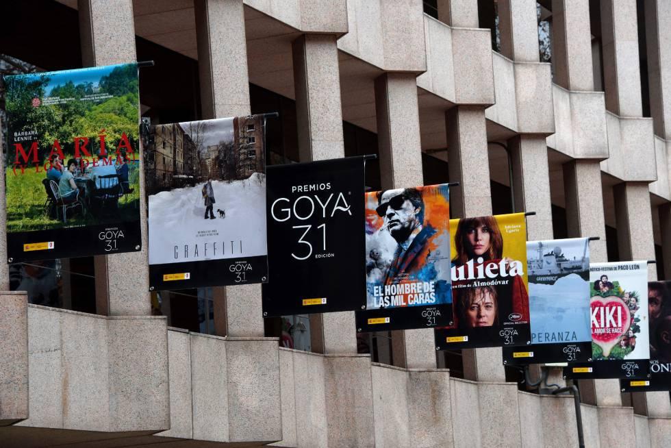 Curiosidades premios de cine los Goya