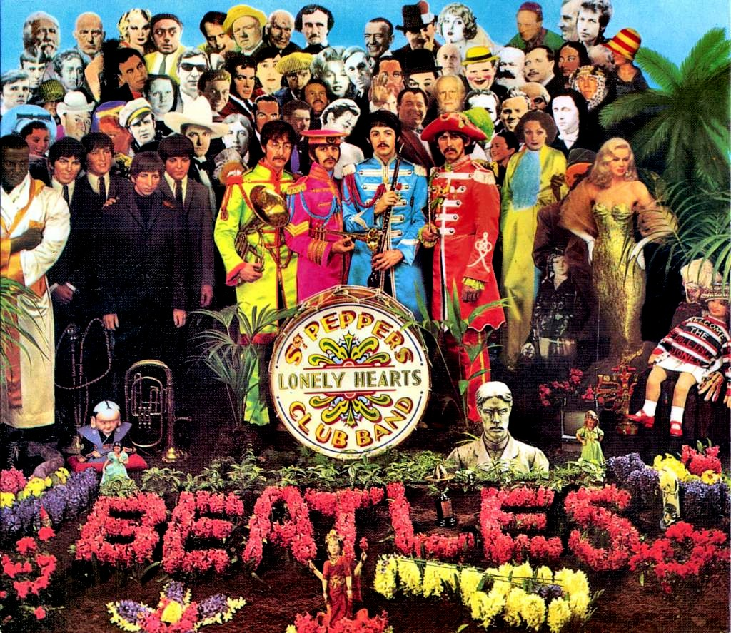 La portada del Sgt. Pepper's Hearts Club Band