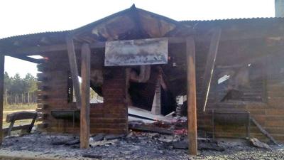 Incendian una emblemática estación de La Trochita — Chubut
