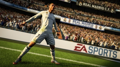 Cristiano Ronaldo, el mejor calificado en el FIFA 18