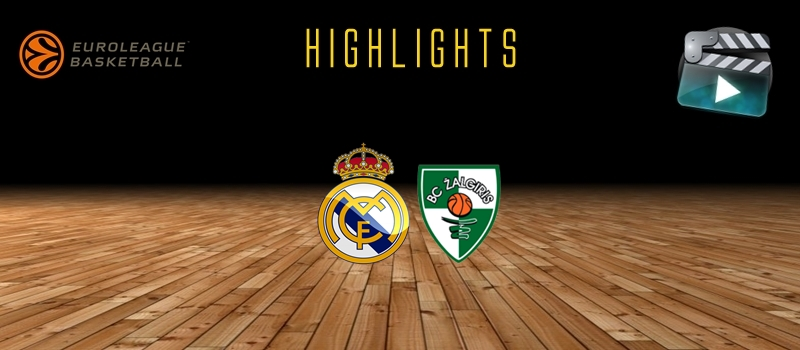 Highlights | Real Madrid vs Zalgiris Kaunas | Euroleague | J11