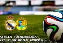 El Castilla vence a un rival directo y se situa cuarto: RM Castilla 2 – 1 Fuenlabrada
