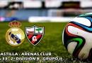 El Castilla se estrella y se aleja del play-off: RM Castilla 1 – 3 Arenas Club