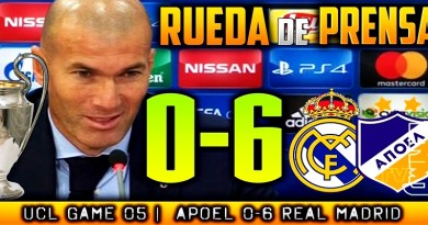 VÍDEO   Rueda de prensa de Zinedine Zidane tras el partido ante el Apoel