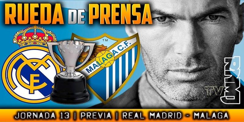 VÍDEO | Rueda de prensa de Zinedine Zidane previa al partido ante el Málaga