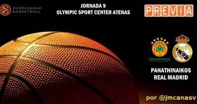 PREVIA   Panathinaikos vs Real Madrid: El reto del OAKA