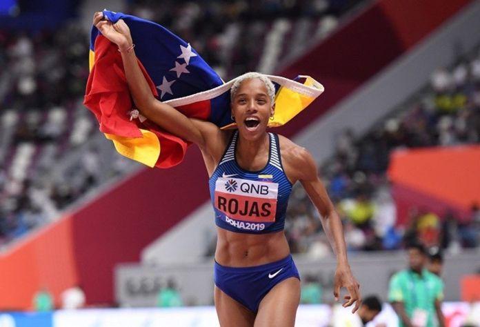 Estos son los primeros venezolanos clasificados a Tokio 2020. Yulimar Rojas.