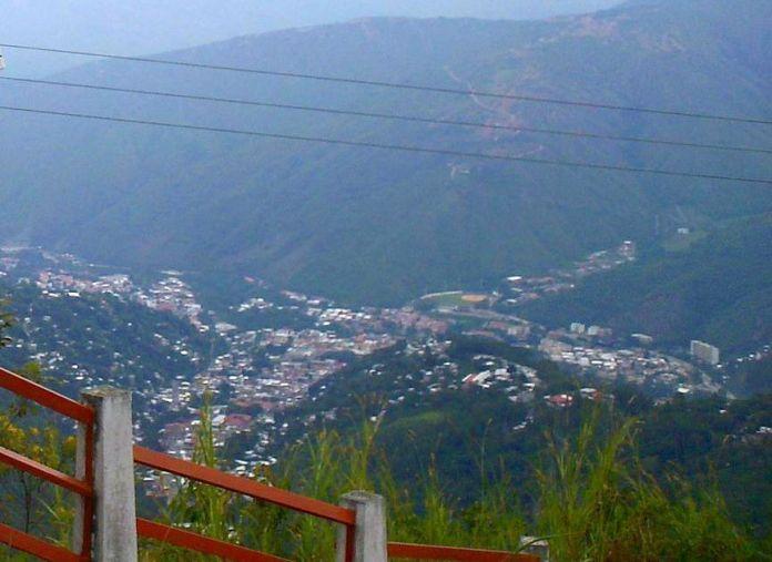 Vista de Trujillo desde el monumento