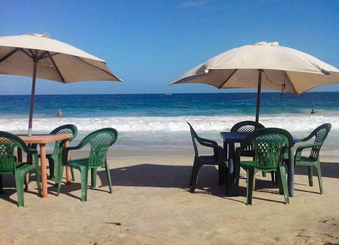 La hermosa playa de Cata