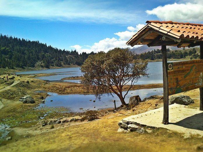 La Laguna de Mucubají, en el Parque Nacional Sierra Nevada