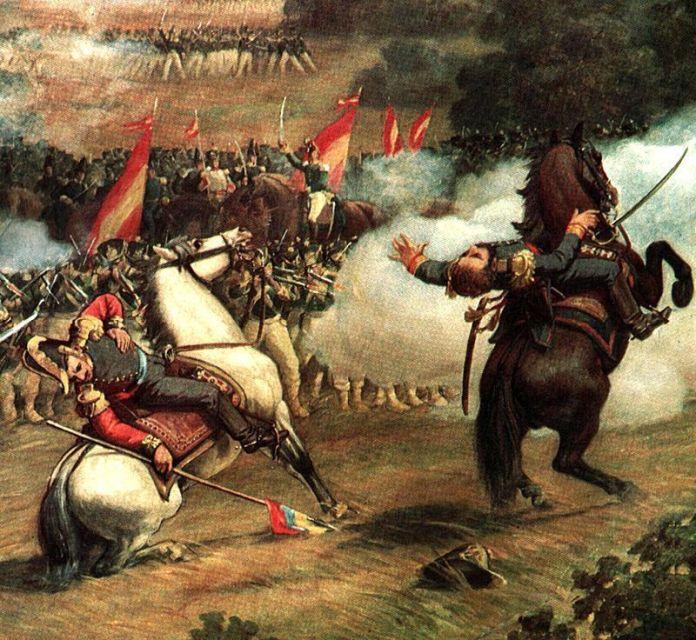 Batalla de Carabobo. Martín Tovar y Tovar