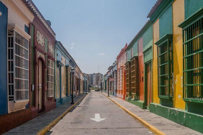 Calle Carabobo de Maracaibo