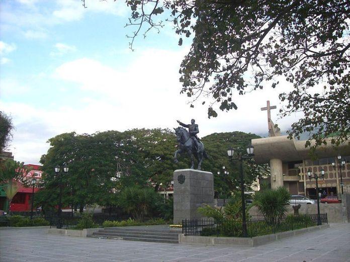 Plaza Bolívar de San Felipe